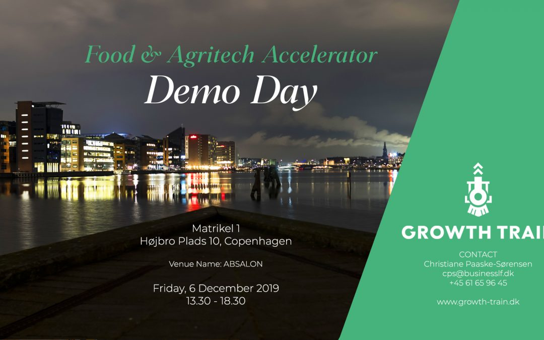 Growth Train Demo Day – 6 Dec. 2019